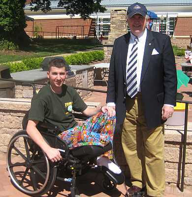 Wounded Warrior Wheelchair