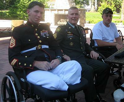 Wounded Warrior Marine