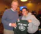 John Voight with Walter Reed Rugby Fan