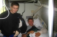 Buddies at Walter Reed